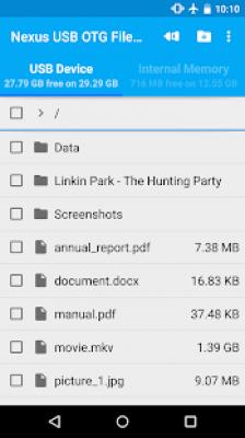 Nexus USB OTG FileManagerTrial 2.12