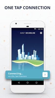 Avast SecureLine VPN 2.2.9