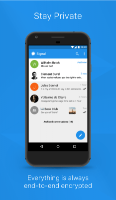 Signal Private Messenger 4.29.5