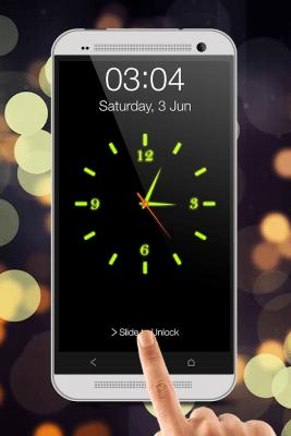 Glowing Clock Locker 36.2