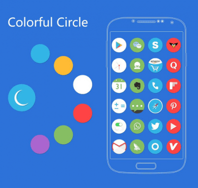 Circle Solo Launcher Theme 1.22
