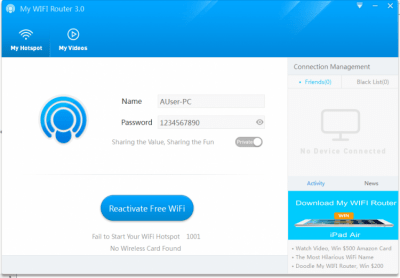 My WIFI Router 3.0.64