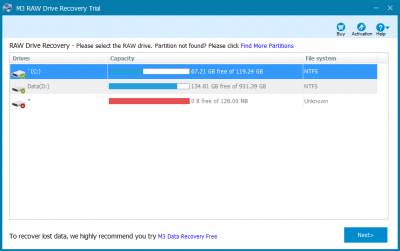M3 RAW to FAT32 Converter 5.6.8