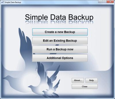 Simple Data Backup 8.6