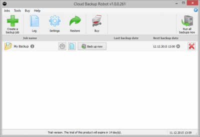 Cloud Backup Robot 1.1.1.21