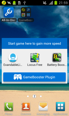 Game Booster (Plugin) 1.7