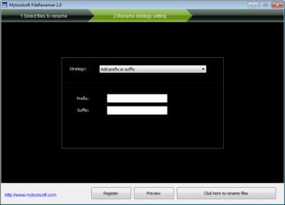 Mytoolsoft FileRenamer 1.8.3