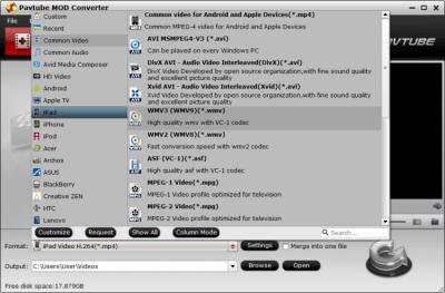 Pavtube MOD Converter 4.9.0.0