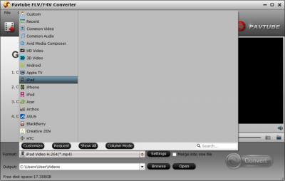 Pavtube FLV/F4V Converter 4.9.0.0