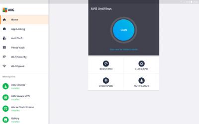 AntiVirus FREE для планшетов 6.7.1