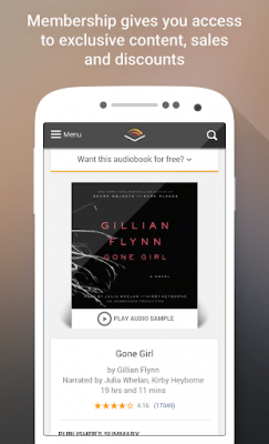 Audible for Android 2.29.0