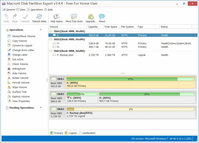 Partition Expert Free Edition 5.3.4