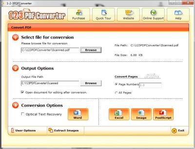 123 PDF Converter 4.1