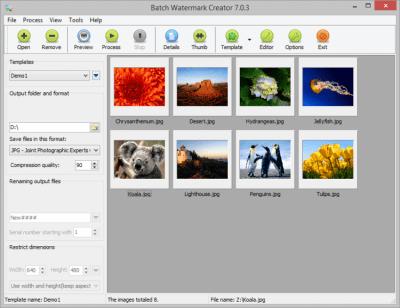 Batch Watermark Creator 7.0.3