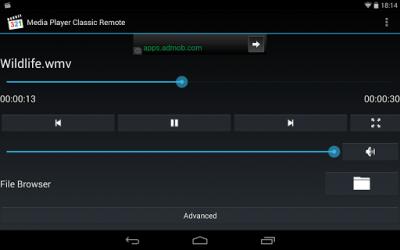 Media Player Classic Remote 1.2