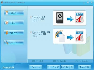 ePub to PDF Converter 2.0.4