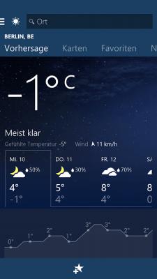 MSN Погода — прогноз и карты 1.2.0