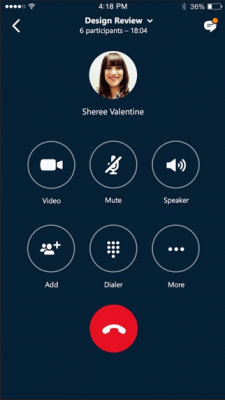 "Skype для бизнеса (ранее ""Lync 2013"") 6.22.3"