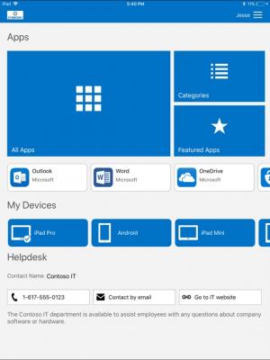 Портал организации Microsoft Intune 2.11.0