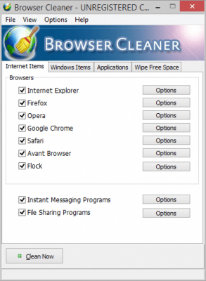 Browser Cleaner Free 1.3