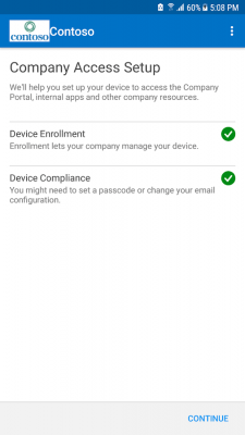 Портал компании Intune 5.0.3867.0