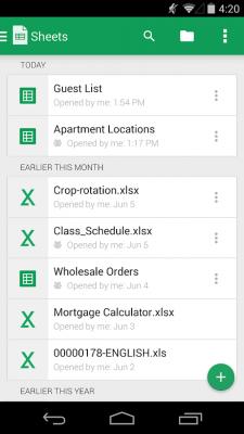 Google Таблицы 1.18.412.03