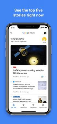 Google Новости 5.5