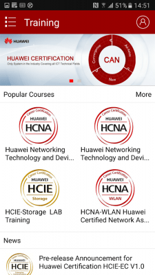 Huawei Learning 3.2.1