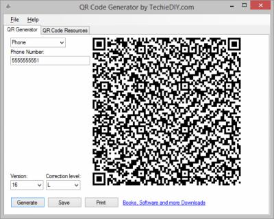 QR Code Generator 1.0