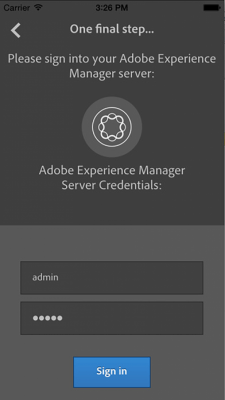 Adobe Experience Manager – Mobile Verify 2.0.3