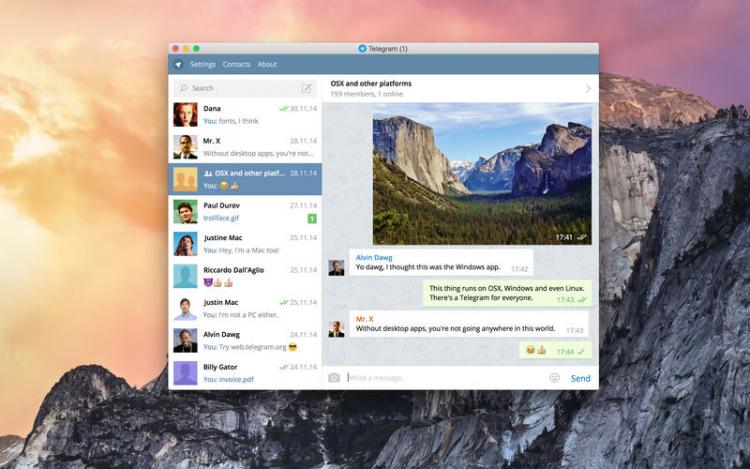 Telegram – Vikipedija