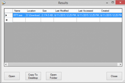 IFFY (I'll Find Files for You) Portable 1.5.1