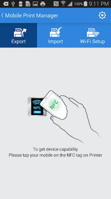 Samsung Mobile Print Manager 1.17.150408