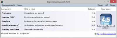 ExperienceIndexOK 1.61
