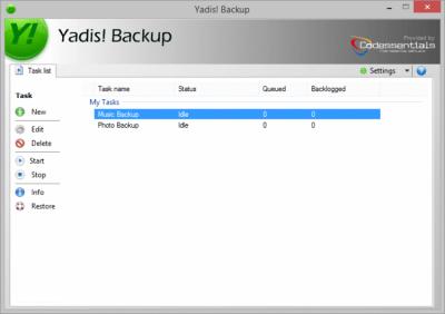 Yadis! Backup 1.10.15