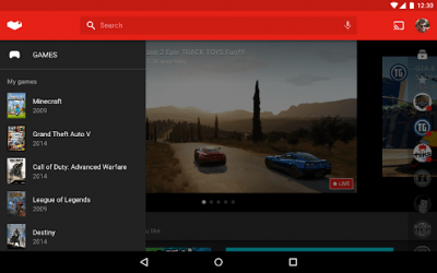 YouTube Gaming 2.08.78.2