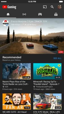 YouTube Gaming 2.08