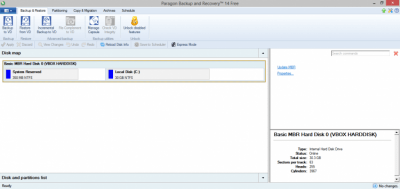 PARAGON Backup & Recovery 16 10.2.0.1235