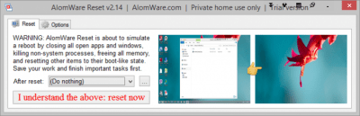 AlomWare Reset 4.01.2
