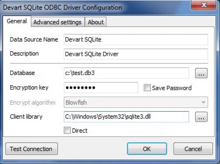 Sqlite ODBC Driver 32
