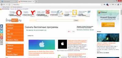 Браузер Спутник 2.1.947.0