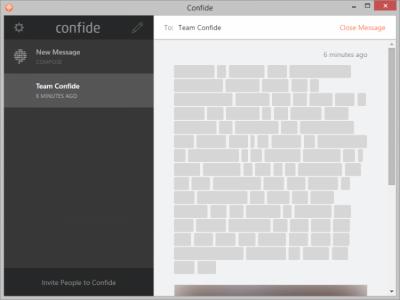 Confide 1.6.0