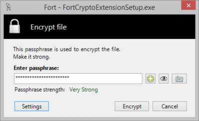 Fort - Cryptography Extension 4.3