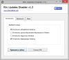 Скачать Win Updates Disabler