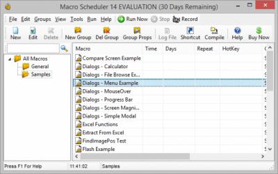 Macro Scheduler 14.4.08