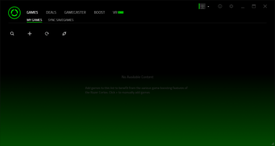 Razer Cortex: Boost 9.0.74 Build 878