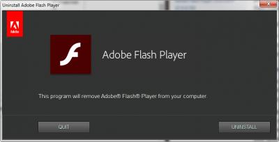 Adobe Flash Player Uninstaller 30.0.0.113