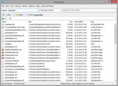 UltraSearch 2.12