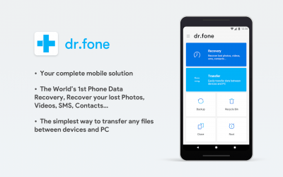 Dr.Fone - Recover deleted data 3.2.0.170