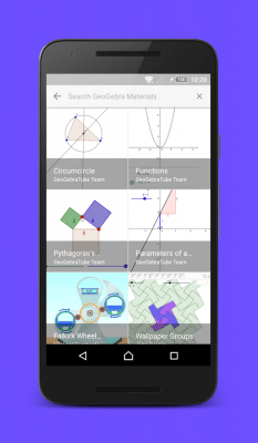 GeoGebra Graphing Calculator 5.0.414.0